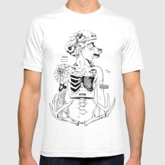 Halloween Mens Fitted Tee White SMALL