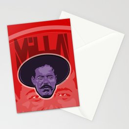 Villa -La Raza 1910 Stationery Cards