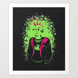 Punktuation! Art Print