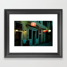 The Chinese in Venice Framed Art Print