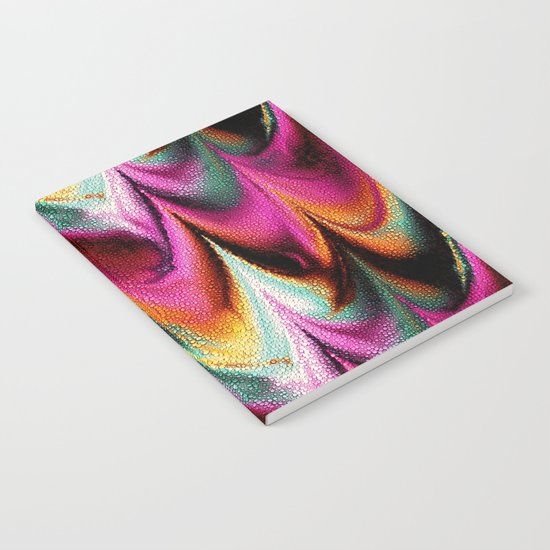 Abstract Feather Notebook