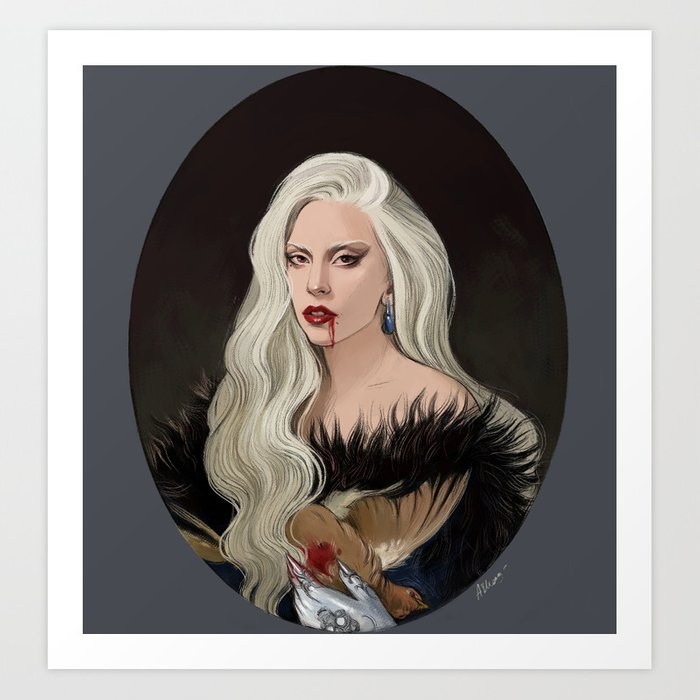 The Countess Art Print