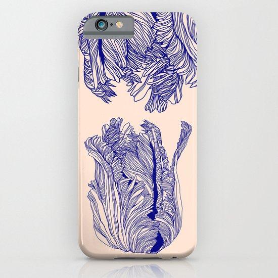 Dark tulip iPhone & iPod Case