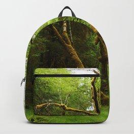 A Moos Laden Tree Backpack