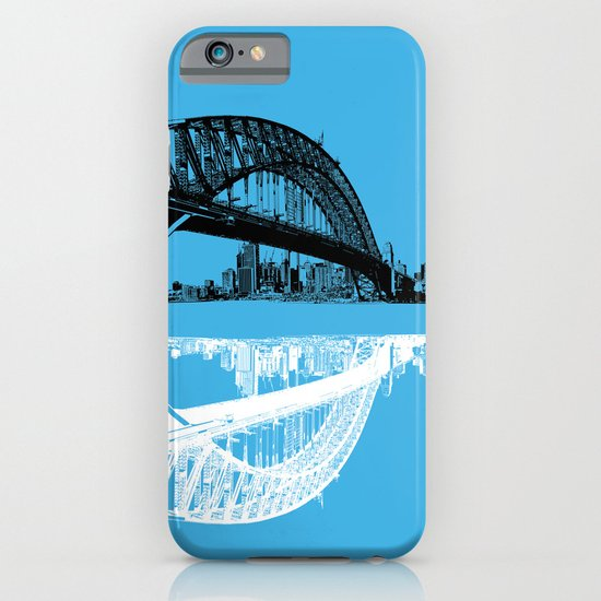 sydney in blue iPhone & iPod Case