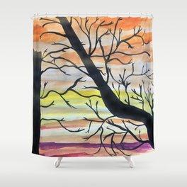 Hallowed Trees Shower Curtain