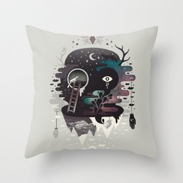 Daemon Throw Pillow