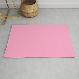 Simply Solid - Carnation Pink Rug