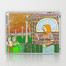 Hansel and Gretel (color) Laptop & iPad Skin