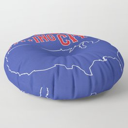 Boston Strong - This is our f***ing city - USA on dark Floor Pillow