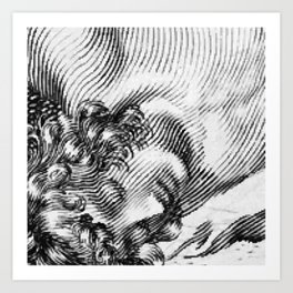 Youth Reposed Art Print