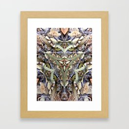 Magnified No 1 Framed Art Print