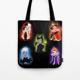 Pretty Lil' Villains Tote Bag