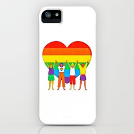 Gay Pride (12) iPhone Case