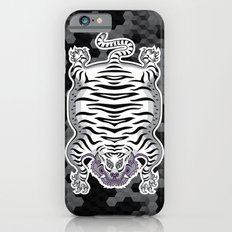 TIBETAN TIGER WHITE (black) Slim Case iPhone 6s