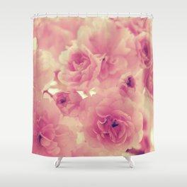 Vintage Flowers - by Cheryl Gerhard Shower Curtain