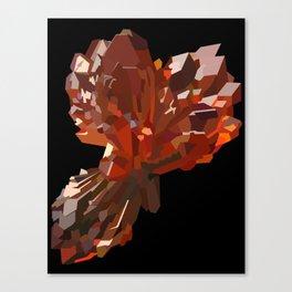 Strengite Cluster Canvas Print