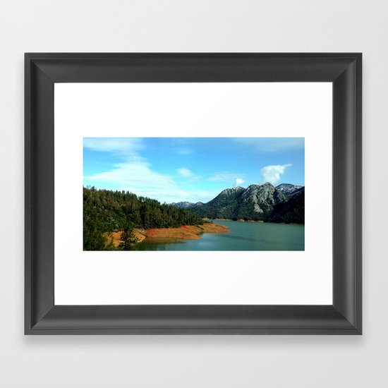 Lake Shasta Framed Art Print