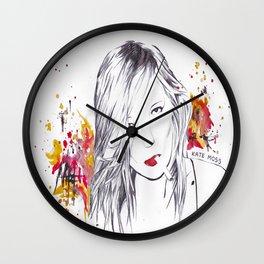 Kate Moss Wall Clock