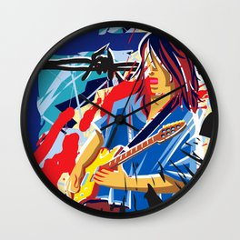 Bloody Blues Wall Clock