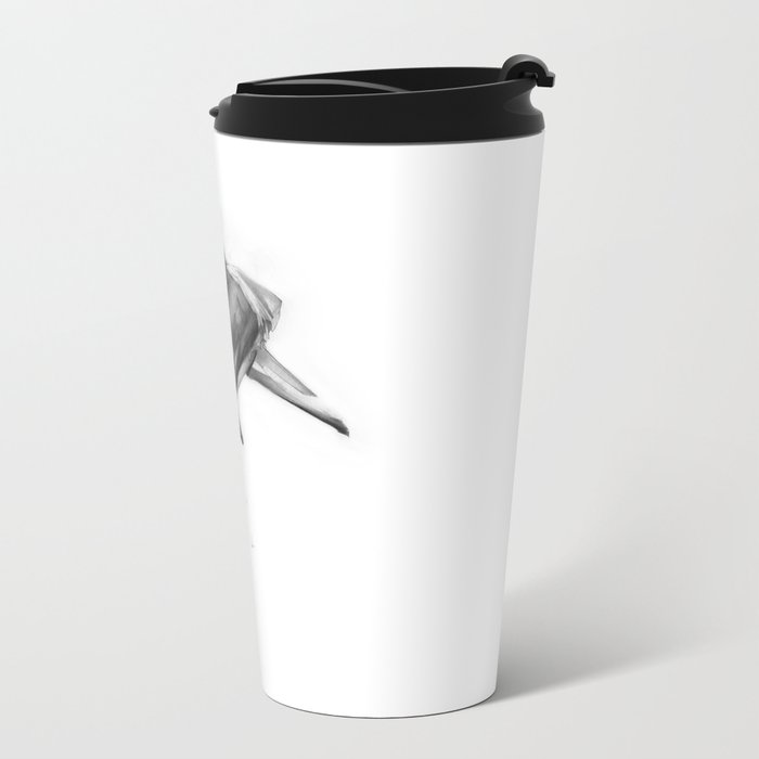 Shark II Metal Travel Mug