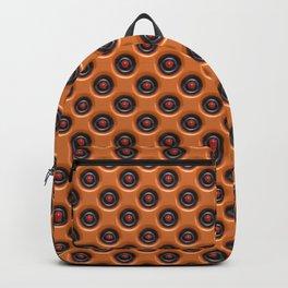 Orange dots Backpack