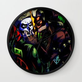 I WILL EAT YOU ALIVE Wall Clock