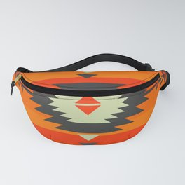 Southwestern in orange and red Fanny Pack