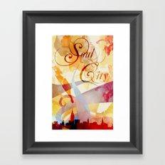 Soul City Framed Art Print