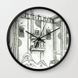 Sunset Bl. Wall Clock