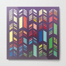 American Native Pattern No. 113 Metal Print