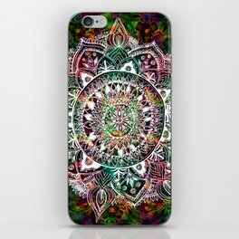 Rainforest Mandala iPhone Skin