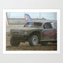 2017 MORR Super Stock Truck Art Print