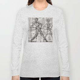 Clone Death - Intaglio / Printmaking Long Sleeve T-shirt