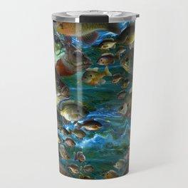 Bluegill Camo Travel Mug