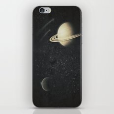 Deep Black Space iPhone & iPod Skin