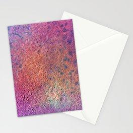 Painting Under UV Spectrum, Unique Blend Of Colors, Original Contemporary Artwork, Copper Stationery Cards