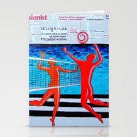 sport Stationery Cards featuring sport life by Katarina Radenkovic