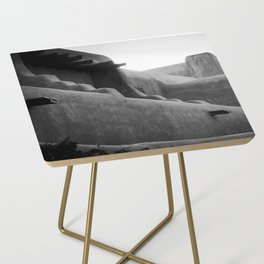 Adobe Lines Side Table