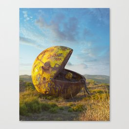 Pac-man Canvas Print