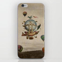 La Minerve 1803  travel in style iPhone Skin
