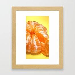 Mikan Framed Art Print