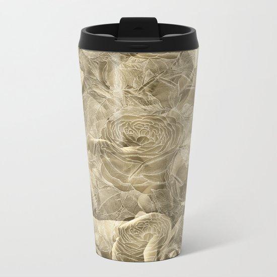 Nostalgia 3 - Sepia Tone Metal Travel Mug