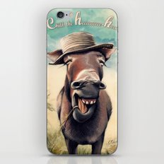 Just Chill Out iPhone & iPod Skin