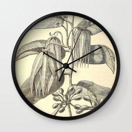 Cananga odorata Wall Clock