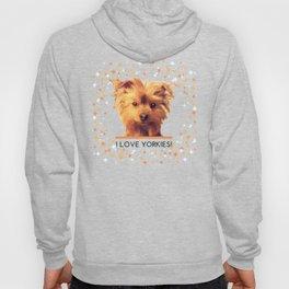 I LOVE YORKIES   Dogs   nb Hoody