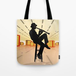 Cool Jazz 3 Tote Bag