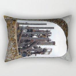 Bethlehem Steel Blast Furnace 6 Rectangular Pillow