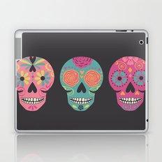 Three Amigas Sugar Skulls Laptop & iPad Skin