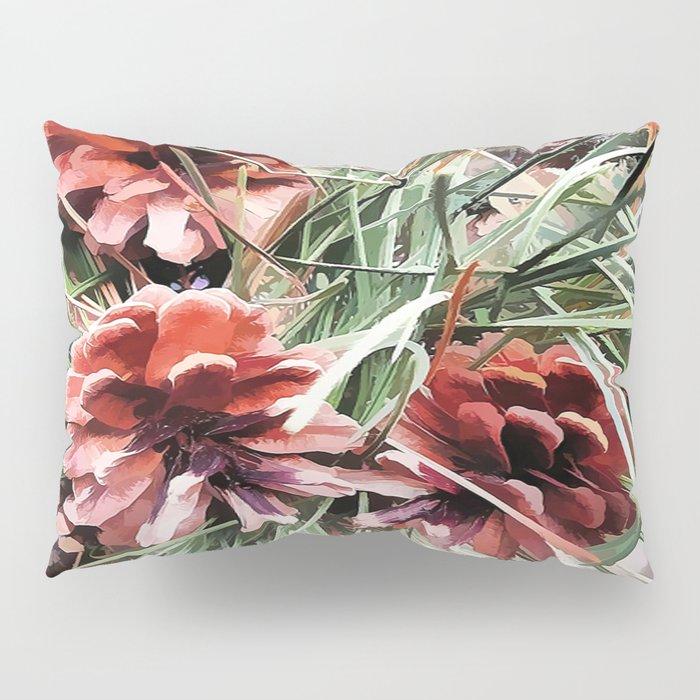 Pine Cones Pillow Sham